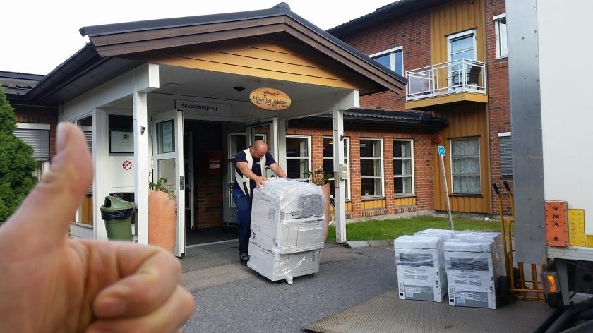 Utrulling skrivere Lørenskog sykehjem